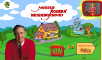 Visit Mr. Roger's House and Neighborhood and discover how things are made, activities, recipes, interactive stories, words and songs from the television show. Also has caregiver tips on using the activities.