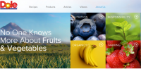 This is a colorful site with music and games about5 a day fruits and vegetables. Also contains a kid's cookbook.