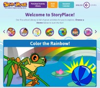 Choose a theme, such as pets, monkeys, shapes, read a story, do related activities, and check out suggested readings for the corresponding theme.
